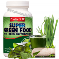 Pharmekal Super Green Food - Alga komplex 180 db